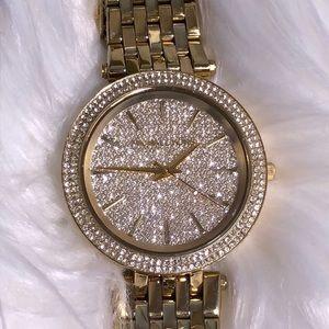 Michael Kors Darci Crystal Pave Dial Ladies Watch